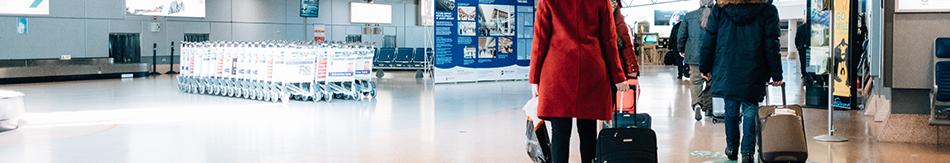 passengers in the baggage reclaim