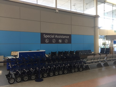 Special assistance area
